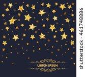 stars background. raster...   Shutterstock . vector #461748886