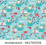 medical flat vector | Shutterstock .eps vector #461769256