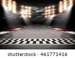 track arena 3d   Shutterstock . vector #461771416