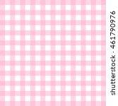vector gingham pattern in pink | Shutterstock .eps vector #461790976