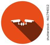 surveillance camera icon ... | Shutterstock .eps vector #461794012