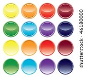 button from colors. vector. | Shutterstock .eps vector #46180000