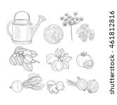 Farm Product Clipart Elements...