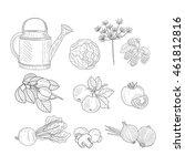 Farm Product Clipart Elements...