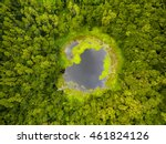 Aerial Top View Perspective Of...