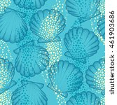 vector seamless pattern with... | Shutterstock .eps vector #461903686