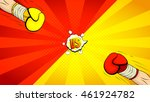 versus letters fight backdrop.... | Shutterstock .eps vector #461924782