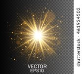 transparent glow light effect.... | Shutterstock .eps vector #461934502