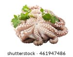 Fresh Octopus With Potatoes An...