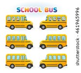 school bus illustration | Shutterstock .eps vector #461965996