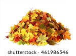 Pile Of Autumn  Colored  Leave...