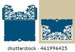 layout congratulatory envelope...   Shutterstock .eps vector #461996425