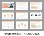 set of template for... | Shutterstock .eps vector #462002566