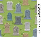 tomb seamless pattern. old... | Shutterstock .eps vector #462010522