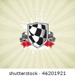 racing sign on the grunge... | Shutterstock .eps vector #46201921