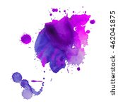 expressive abstract watercolor... | Shutterstock .eps vector #462041875