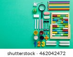 items related to school and... | Shutterstock . vector #462042472