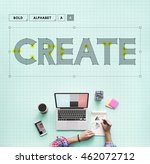create creative ideas thinking... | Shutterstock . vector #462072712