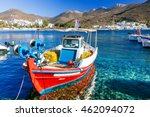 Traditonal Fishing Boats In...