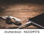 Earphones And Phone Media...