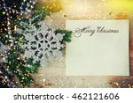 christmas background | Shutterstock . vector #462121606