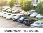abstract blurred elevated view... | Shutterstock . vector #462129886