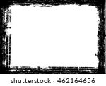 grunge black and white frame... | Shutterstock .eps vector #462164656