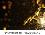 party background with lights... | Shutterstock . vector #462198142