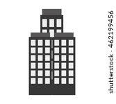 flat design tall building icon... | Shutterstock .eps vector #462199456