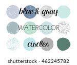 round circle vector shapes in...   Shutterstock .eps vector #462245782