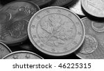 range of euro coins useful as a ... | Shutterstock . vector #46225315