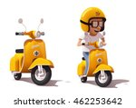 detailed icons representing... | Shutterstock .eps vector #462253642