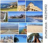 California Photos Collage With...