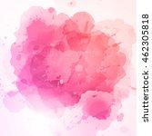 vector abstract watercolor... | Shutterstock .eps vector #462305818