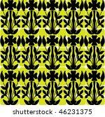 seamless ornate pattern   Shutterstock .eps vector #46231375