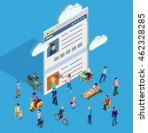forum society of men and women...   Shutterstock .eps vector #462328285