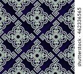 arabic pattern | Shutterstock .eps vector #462336565