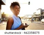 close up portrait of attractive ... | Shutterstock . vector #462358075