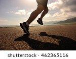 young fitness woman runner... | Shutterstock . vector #462365116