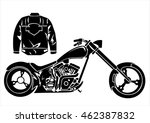 motorcycle icons | Shutterstock .eps vector #462387832