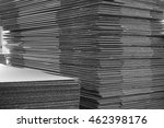 stack of corrugated paper in