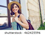 sunny lifestyle fashion... | Shutterstock . vector #462425596