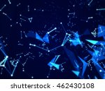 hi tech background with line... | Shutterstock . vector #462430108