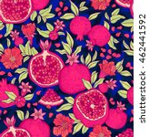 seamless pattern with... | Shutterstock .eps vector #462441592
