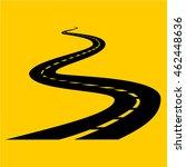 road icon vector | Shutterstock .eps vector #462448636