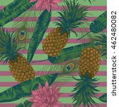 seamless pattern with... | Shutterstock .eps vector #462480082