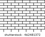 brick pattern black and white... | Shutterstock .eps vector #462481372