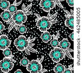 flower pattern | Shutterstock .eps vector #462485005