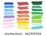 vector lanes drawn with colored ... | Shutterstock .eps vector #462509536