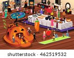 a vector illustration of people ... | Shutterstock .eps vector #462519532